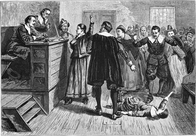 Capital punishment reached a new fervor a few decades later, when 19 people were hanged and one person crushed to death during the 1692 Salem witch trials.