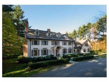 23 Walnut Road is on the market in Weston for $4.99 million.