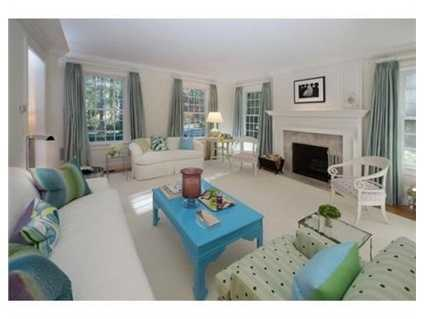 Acoffered ceiling family room and study all overlooking the exceptional grounds.