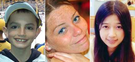 """Tsarnaev is charged with the """"intentional killing"""" of Martin Richard, 8, Krystle Marie Campbell, 29, and Lingzi Lu, 23."""