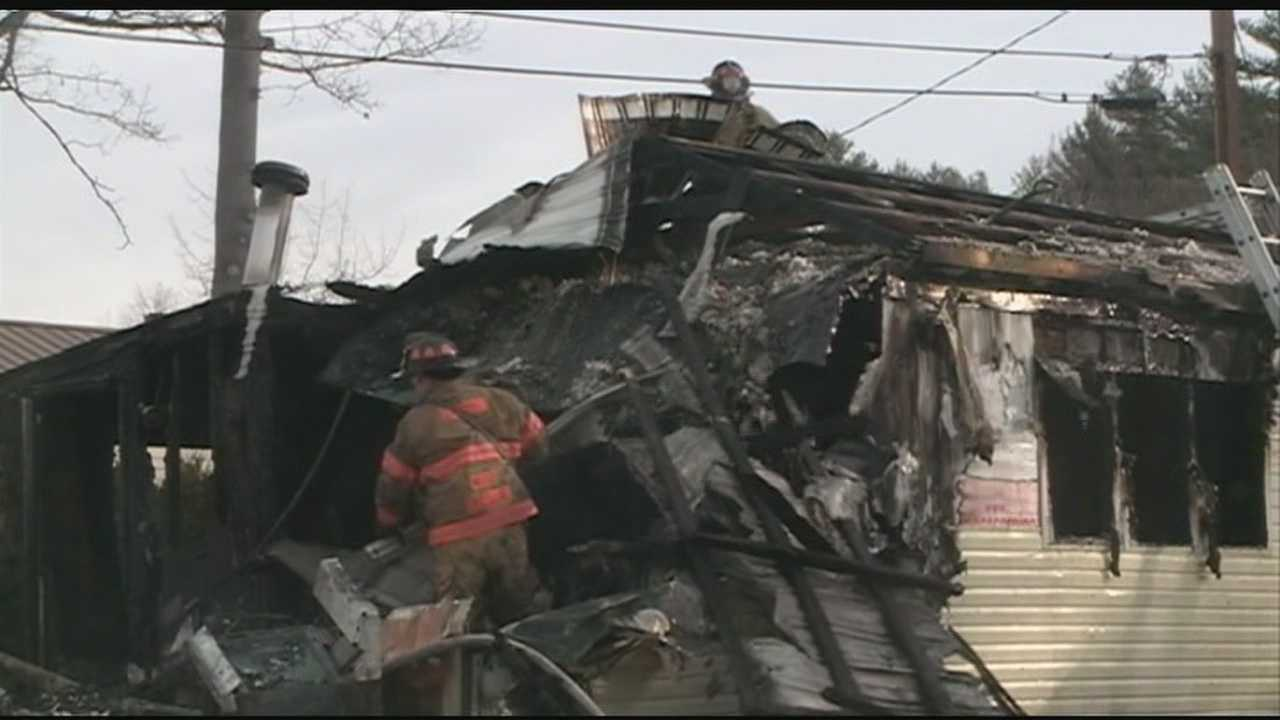 Boy saves grandmother from fire