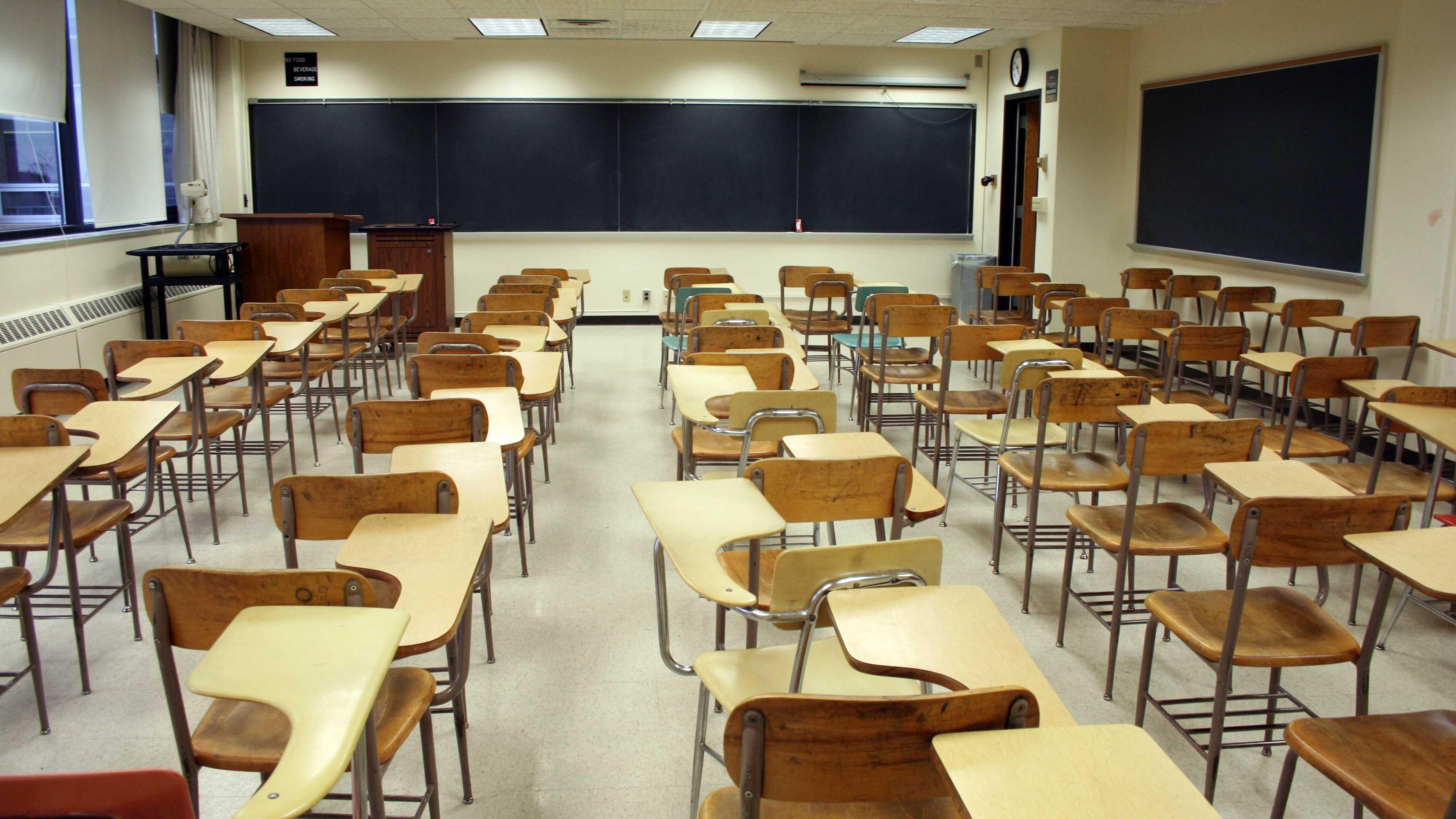 Empty Classroom good still 020114