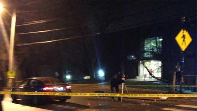 Brandeis students struck 020214