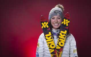 Emily Cook, of Belmont, is a freestyle skier. She has eight World Cup podiums, more than 30 World Cup top tens and five National Championship wins.
