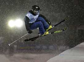 Annalisa Drew, of Andover, Mass., is a freestyle skier.