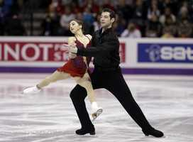 Simon Shnapir, of Sudbury, Mass., is a pairs skater. His partner is Marissa Castelli, of Cranston, R.I.