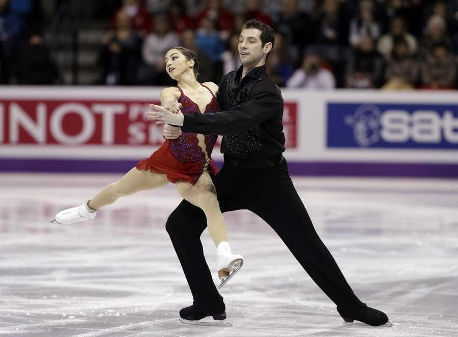 Simon Shnapir, of Sudbury, Mass., is a pairs skater. His partner is Marissa Castelli, of Cranston, R.I.