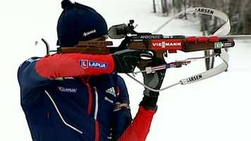 Sean Doherty, of Center Conway, N.H., is on the biathlon team. He is 18.