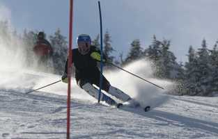 Julia Ford, of Holderness, N.H. is a skier.