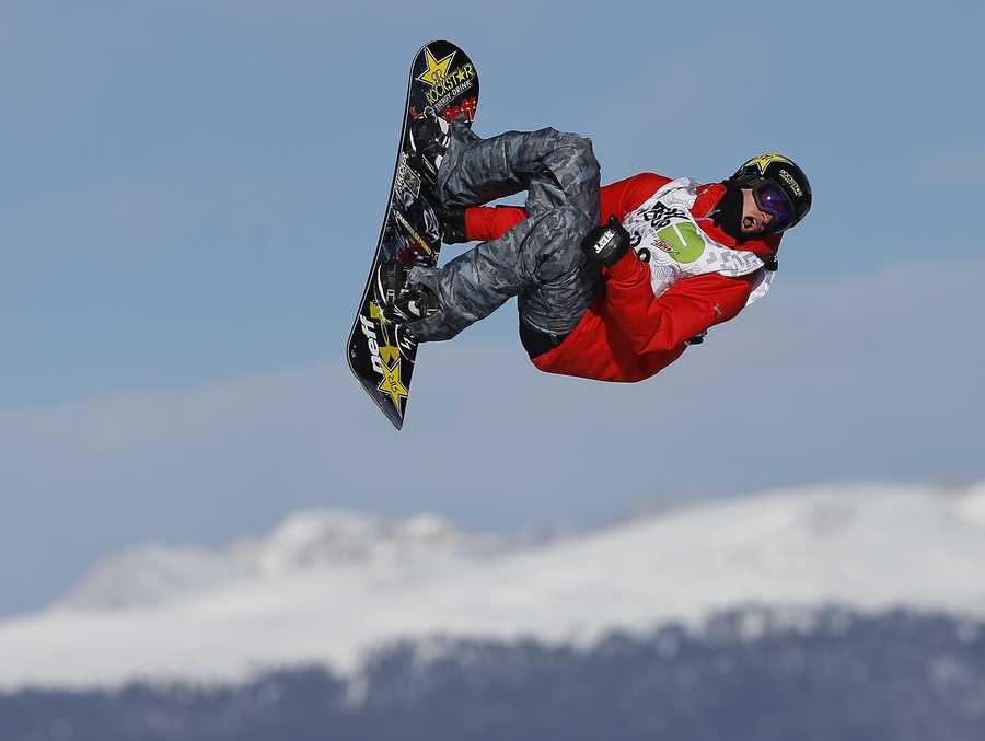 Chas Guldemond, of Laconia, N.H., is a snowboarder.