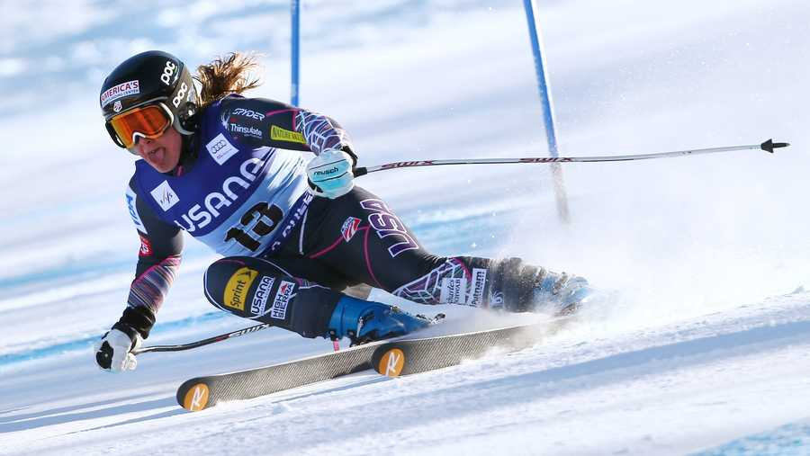 Leanne Smith, of North Conway, N.H., is a skier.