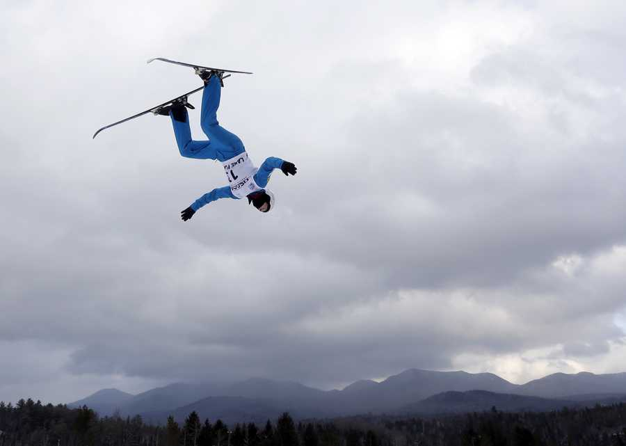 Mac Bohonnon, of Madison, Conn., is a freestyle skier.