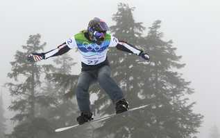 Lindsey Jacobellis, of Roxbury, Conn., is a snowboarder.