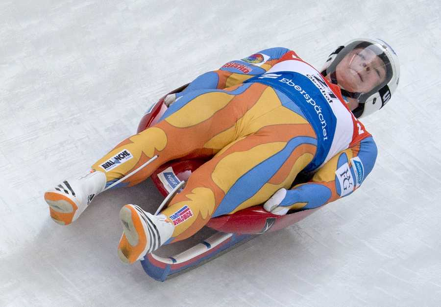 Tucker West, of Ridgefield, Conn., is a slider. At the age of 18, he is the youngest male ever to qualify to represent the United States in the Winter Olympics.