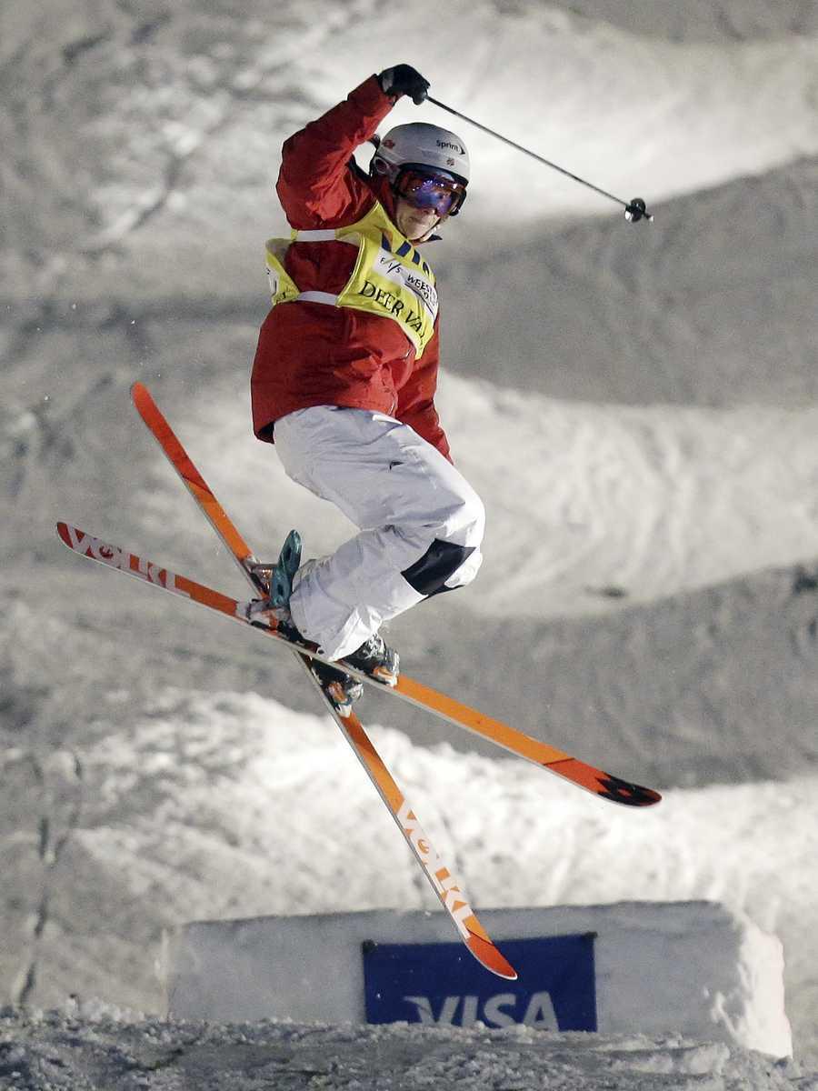 Hannah Kearney, of Norwich, Vt., is a freestyle skier.