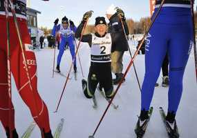 Ida Sargent, of Barton, Vt., is a cross-country skier.