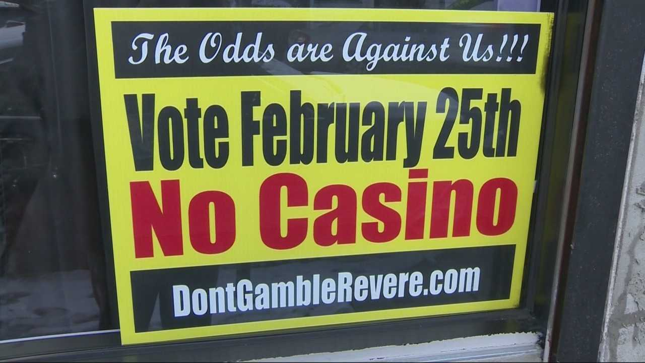 Some people in the city of Revere, weeks away from a casino vote, say they are being pressured to support the initiative.