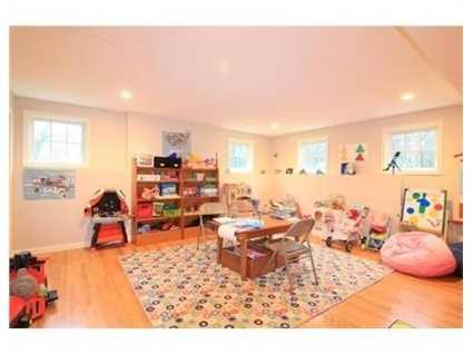 Space for a playroom.