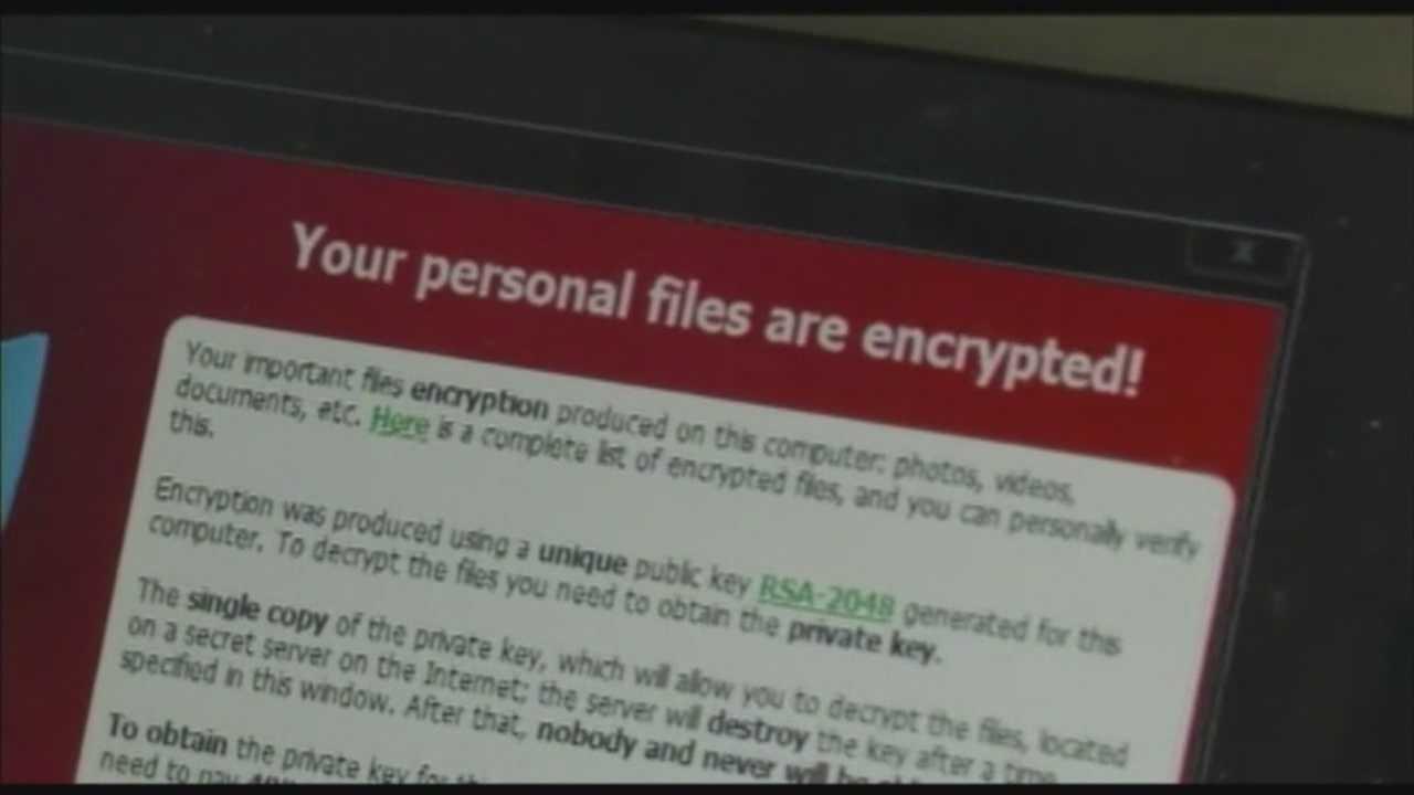 Computer held hostage