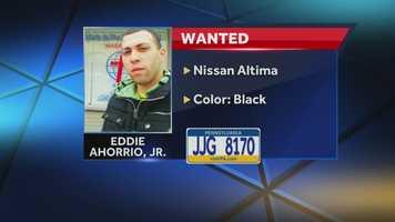 The children were abducted at gunpoint by their mother's ex-boyfriend, Eddie Ahorrio Jr., 23. Ahorrio is believed to be with his father, Eddie Ahorrio Sr., 47.
