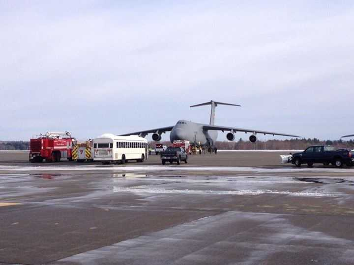 No injuries were reported and there was no declaration of an in-flight emergency, officials said.