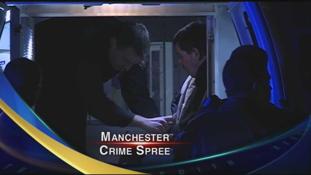 Manchester Robbery Spree