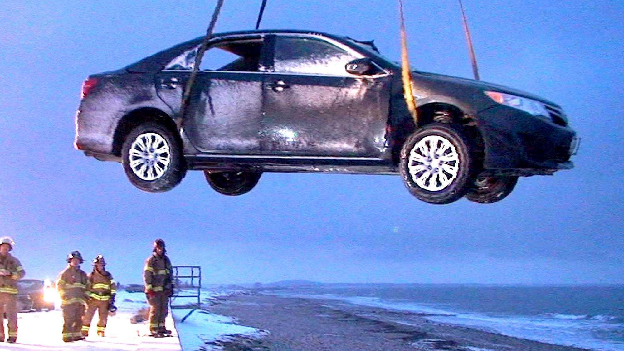 Plymouth Seawall crash