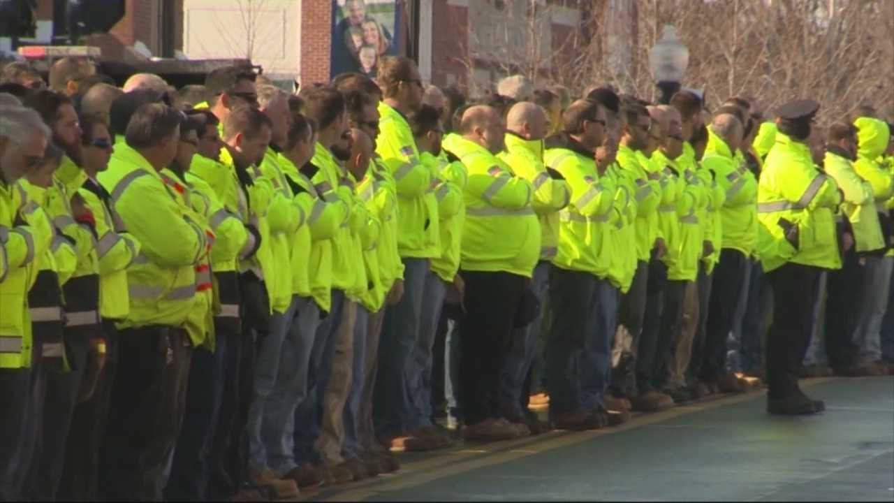 Natick DPW worker laid to rest