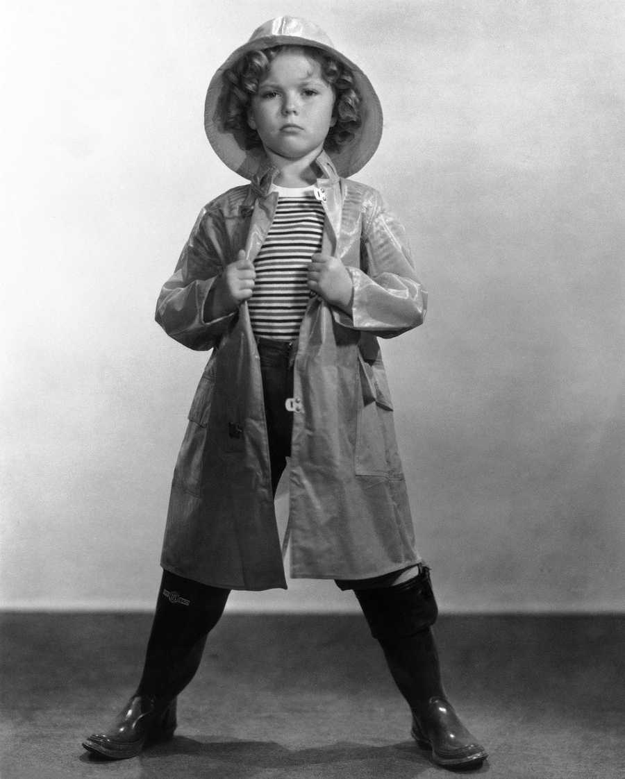 """Shirley Temple 20th Century Fox character in 1935 movie """"Captain January."""""""