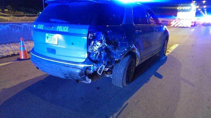 Trooper struck on pike 2.11