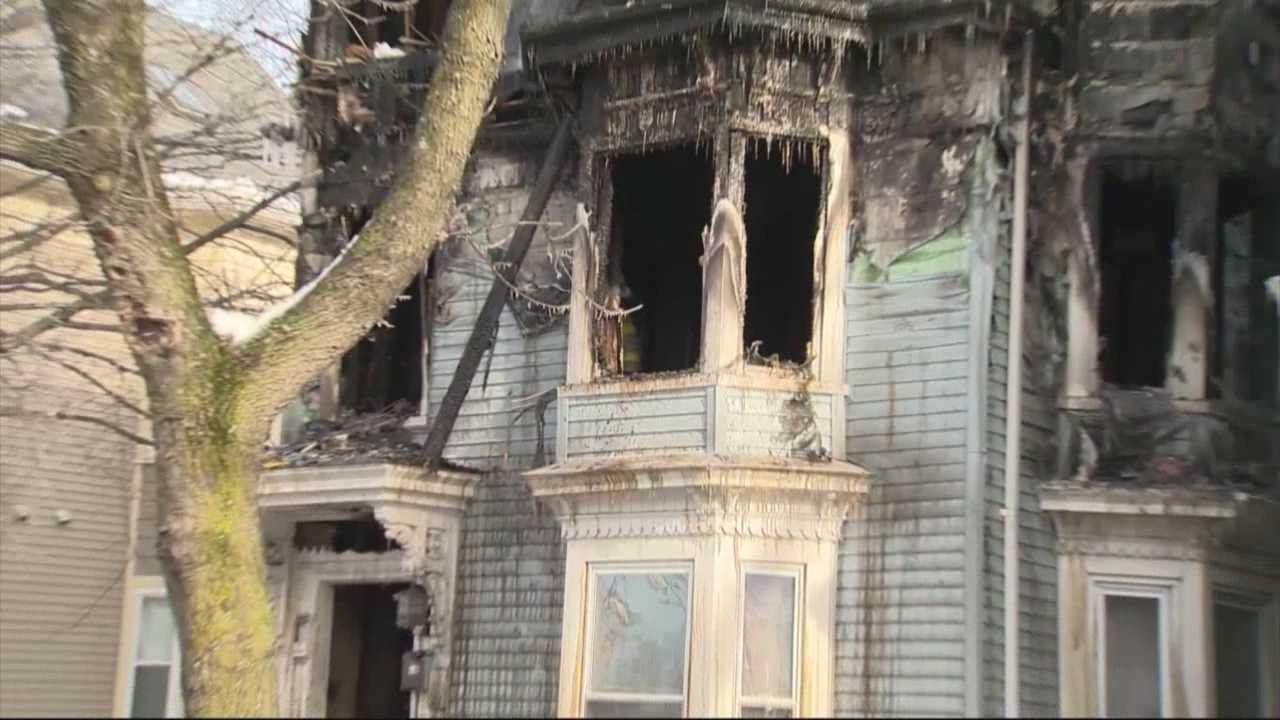 Woman killed in 3-alarm Cambridge fire