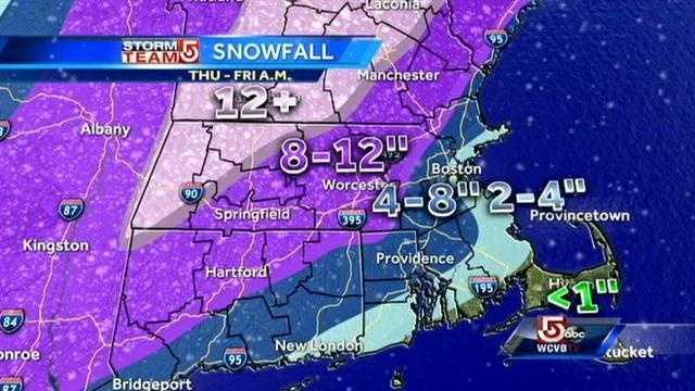Thursday AM snow map 2.13 am