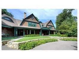 Stunning Perfection describes this 12,000 sq. ft. Shingle Style home.
