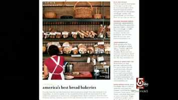 "Bon Appetit called Richard Bourdon's bread a ""national treasure."""