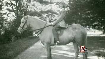 At age 11, she had her own horse. She later majored in Zoology and Ecology at Smith College.