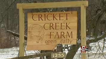 Berkshire Organics is good for Cricket Creek Farm, a small place in Williamstown always looking for new ways to connect with customers.