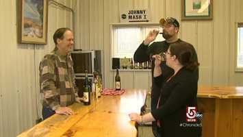 Furnace Brook Winery is owned by John Vittori.