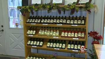 Furnace Brook Winery produces 13 different varietal wines. The latest is an apple ice wine.