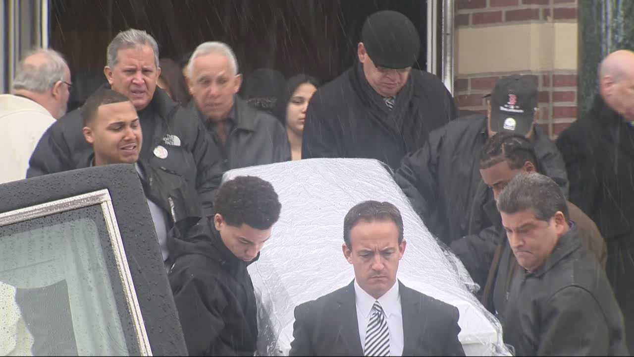 A Mattapan boy who was accidentally killed by his brother was laid to rest Thursday