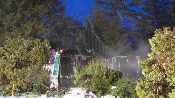 A 3-alarm fire destroyed a Concord home early Friday.