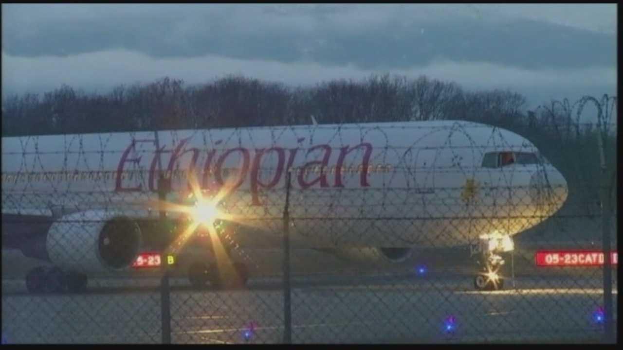 Ethopian plane hijacking