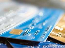 6.)At the limit or over the limit on your credit cards.