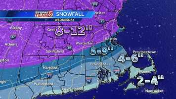 February 5: A large winter storm brings a wide area of heavy snow across New England. Many school districts postpone classes for the day.