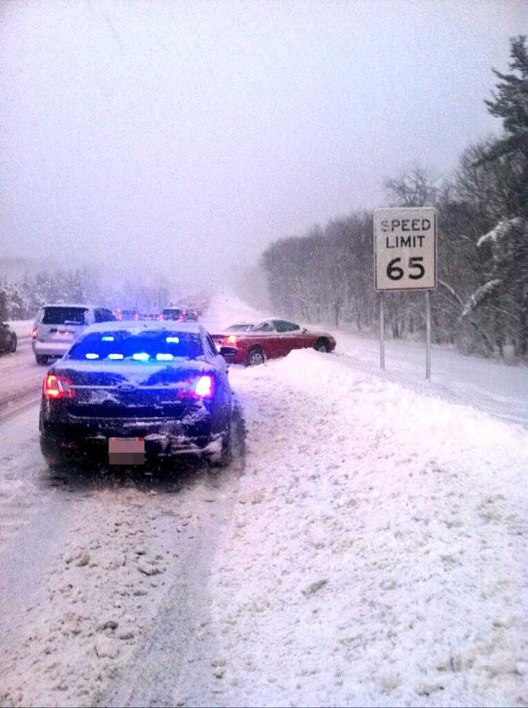 Route 495 in Westford
