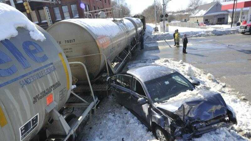 Webster Train vs Car 0220