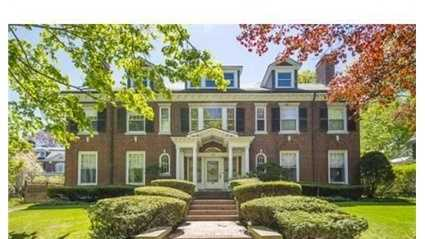 164 Dean Road is on the market in Brookline for $3.39 million.