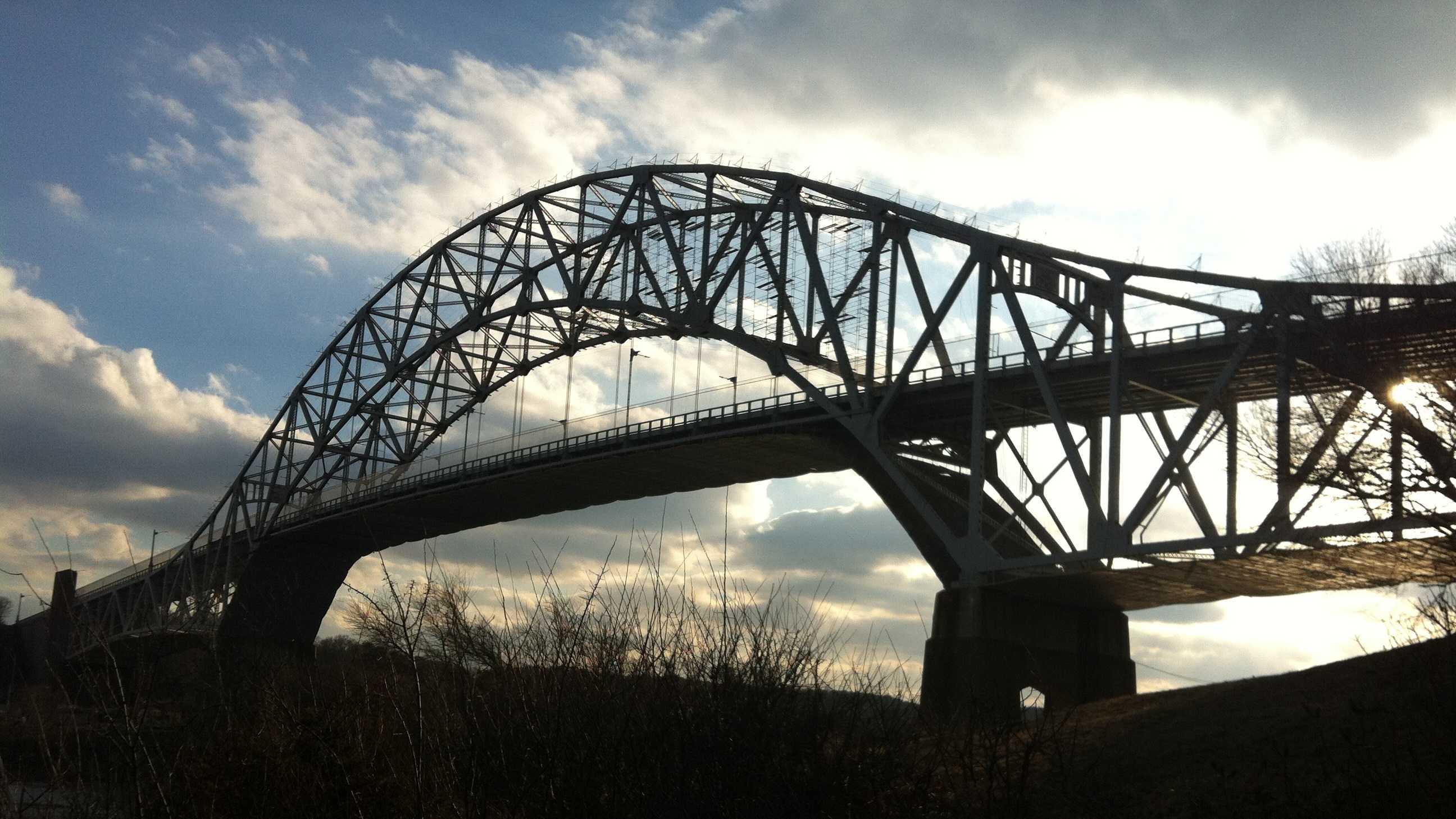 Sagamore Bridge evening