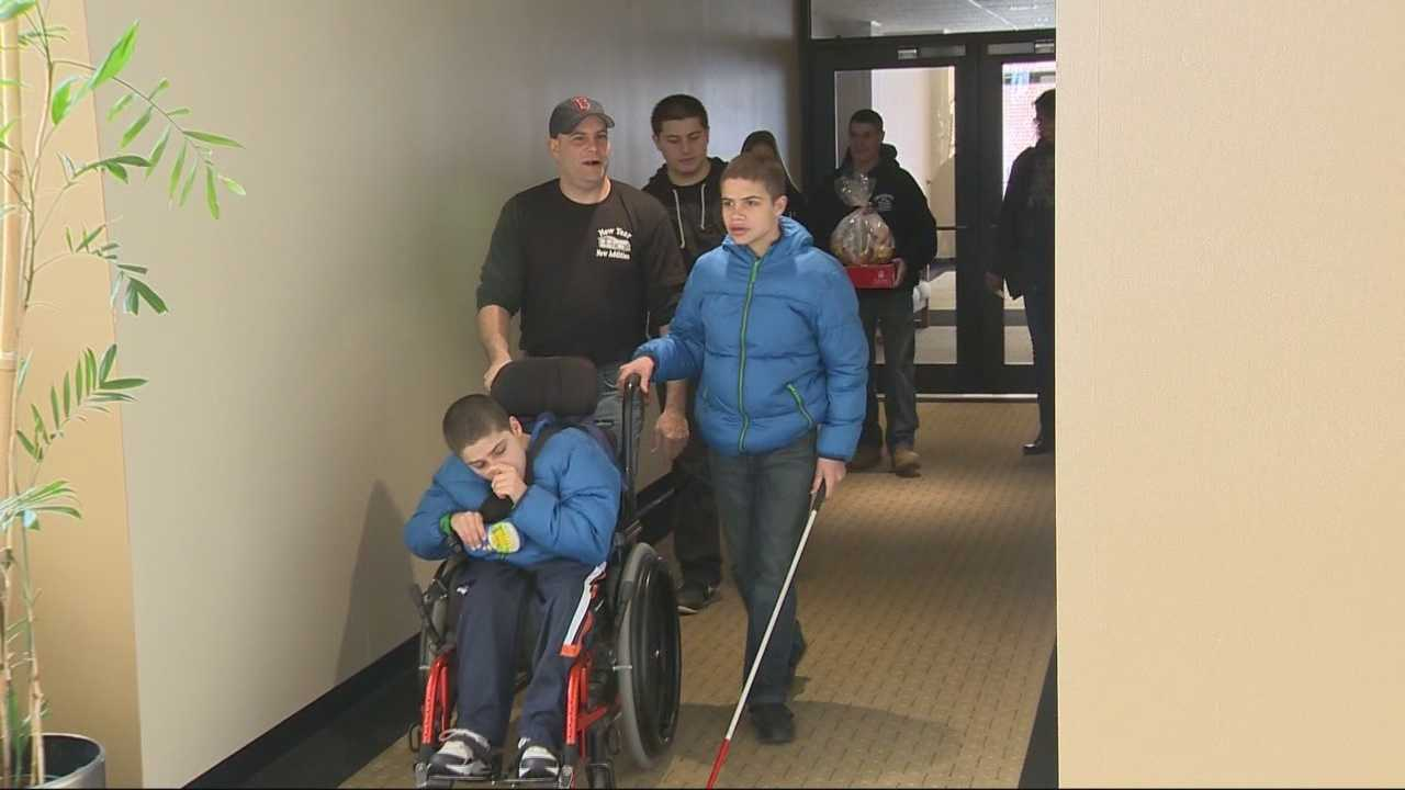 Anonymous donor changes life of single dad, special needs kids