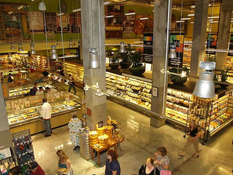 8.) Whole Foods