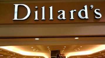 5.) Dillard's (tie)
